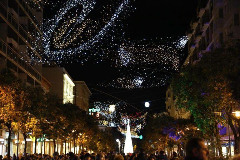 Luci di Natale uniche per Pescara e Chieti