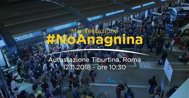 Terminal Anagnina. Corsa bis per Roma messa a disposizione per partecipare alla manifestazione