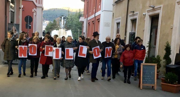 No decreto Pillon: flash mob a Teramo e L'Aquila