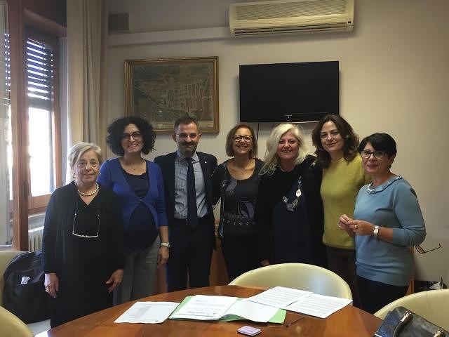 Vasto, sottoscritta l'associazione temporanea di scopo del progetto Eva