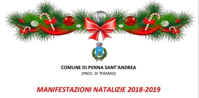 Penna Sant'Andrea: ecco il calendario delle manifestazioni natalizie