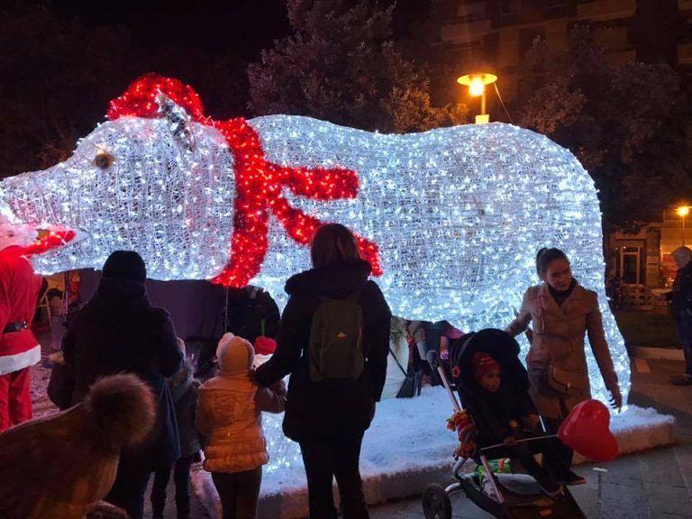 Pescara, il Natale si accende con le Luci d'Artista FOTO-VIDEO