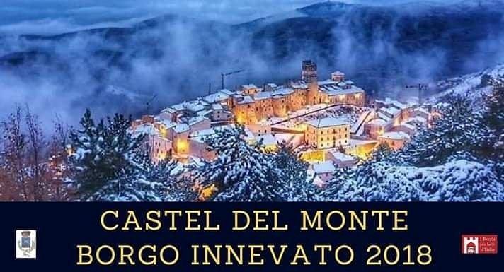 Castel del Monte, torna il Borgo Innevato: TUTTI GLI EVENTI NATALIZI