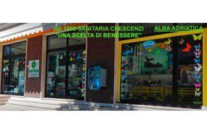 SANITARIA CRESCENZI dal 1980 prodotti FARMASANITARI specifici per Bambini, Adulti ed Anziani. Ad Alba Adriatica (TE)
