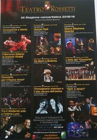 Vasto, al via la campagna abbonamenti per la nuova stagione musicale e di prosa del Teatro Rossetti
