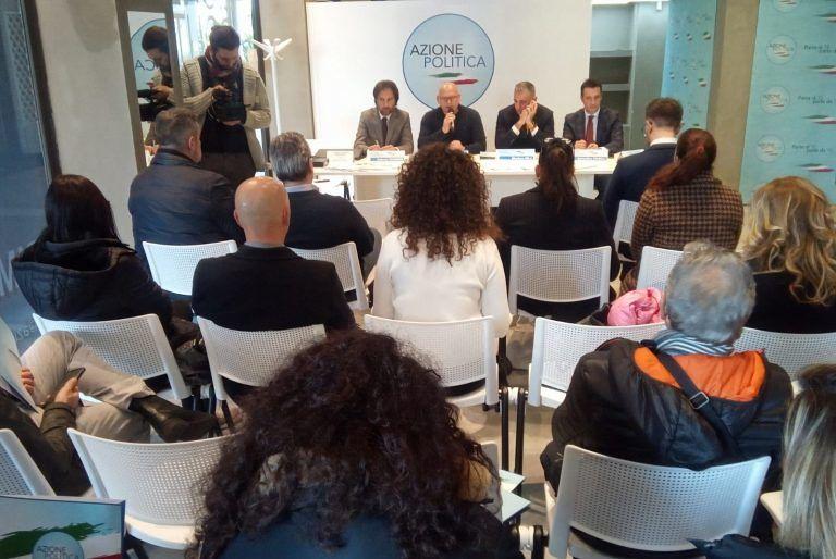 Pescara, elezioni regionali: presentati i tre candidati consiglieri di Azione Politica