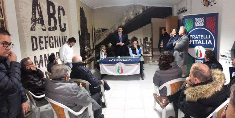 """Pineto: inaugurata la sede di Fratelli d'Italia e Paolo Passamonti, futuro candidato Sindaco, """"si presenta"""""""