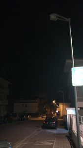 Giulianova, il nuovo quartiere di Villa Pozzoni al buio da oltre 2 mesi FOTO