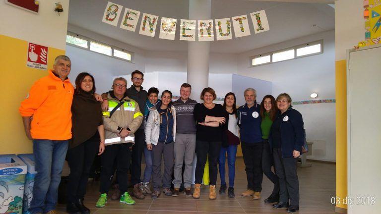 Dieci giovani del Servizio Volontario Europeo in visita alle scuole e ai paesi dell'Istituto Comprensivo Civitella-Torricella