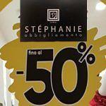 SCONTI FINO AL 50%! DAI SFOGO A TUTTA LA TUA VOGLIA DI SHOPPING, da STÉPHANIE Outlet & Store Abbigliamento Donna! IL TUO NUOVO GUARDAROBA