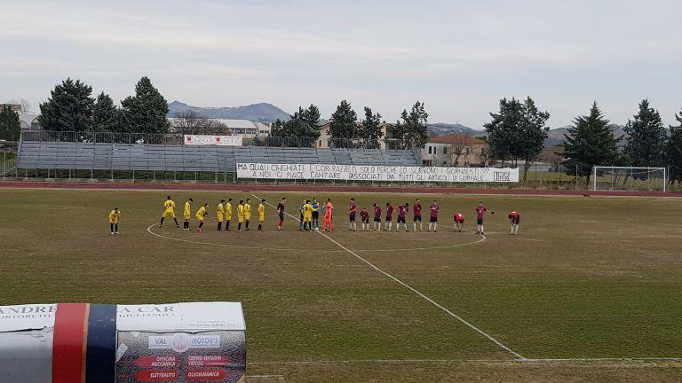 Eccellenza, al Nereto basta il gol di Lazzarini: 1-0 all'Amiternina