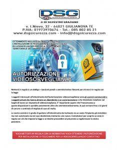 DSG SISTEMI DISICUREZZAAVANZATI Giulianova (TE) Via Ippolito Nievo, 32 Progettazione Installazione Assistenza