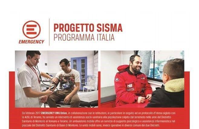 Frana di Ponzano, arriva il laboratorio mobile di Emergency
