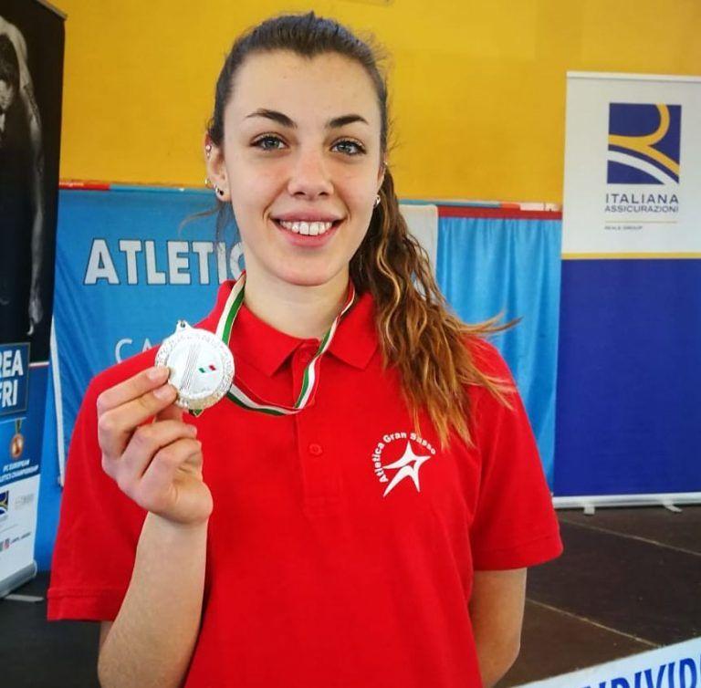 Atletica, Ludovica Montanaro argento nel disco