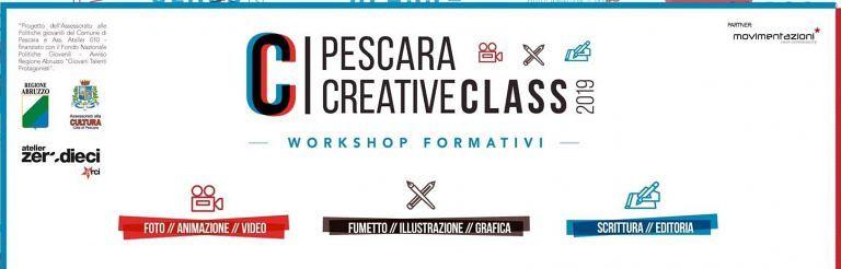 Pescara Creative Class: corsi di formazione gratuiti per under 35