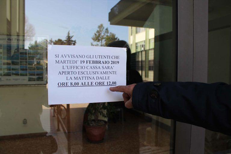 """Pescara, comando dei vigili: """"Ufficio multe ancora chiuso a sorpresa"""""""
