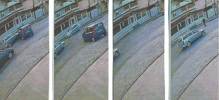 Montesilvano, cerca di falsificare la dinamica dell'incidente: incastrato dalle telecamere