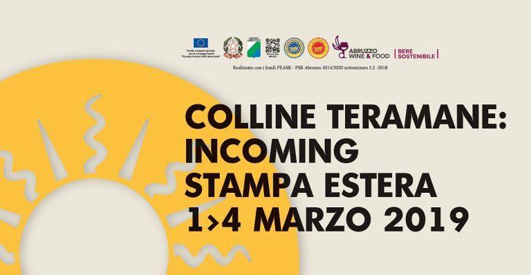 Vini, Colline Teramane, incoming con la stampa estera
