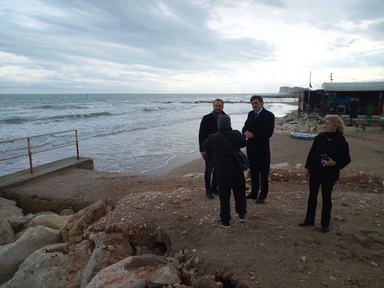 Silvi, danni mareggiata: Marsilio e Scordella lanciano ultimatum alla Regione