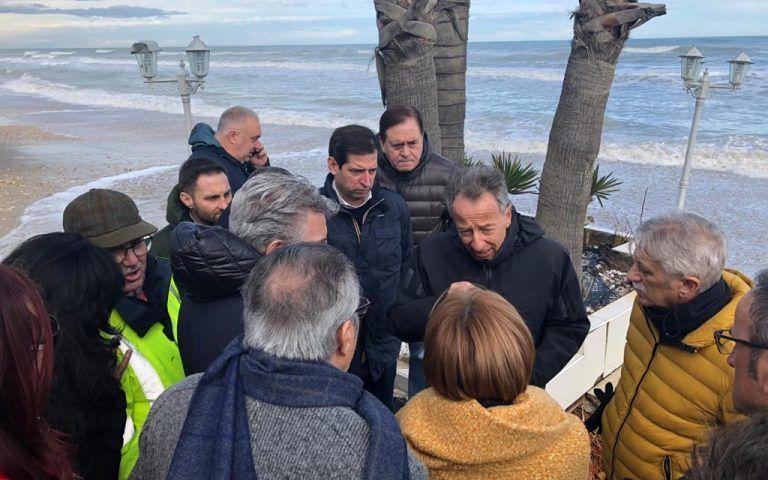 L'Adriatico inghiotte le spiagge, Quaresimale: programmazione seria non inefficienze VIDEO