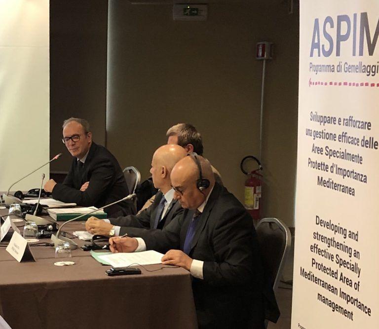 Tutela ambientale: all'incontro sulle AMP del Mediterraneo, anche il Sindaco di Pineto