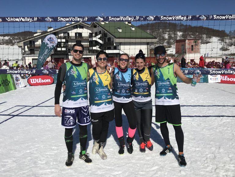 Snow volley del CSI, grande partecipazione a Roccaraso