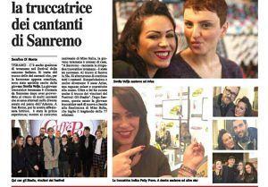 Anche quest'anno Sonila Velja di Tortoreto sarà la truccatrice del Festival di Sanremo
