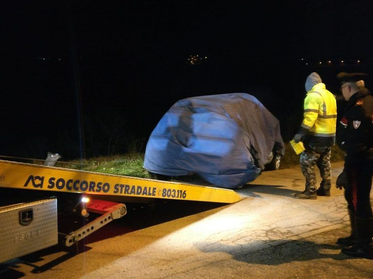 Daniele Taddei, ritrovato il cadavere nell'auto sulle colline di Tortoreto FOTO VIDEO