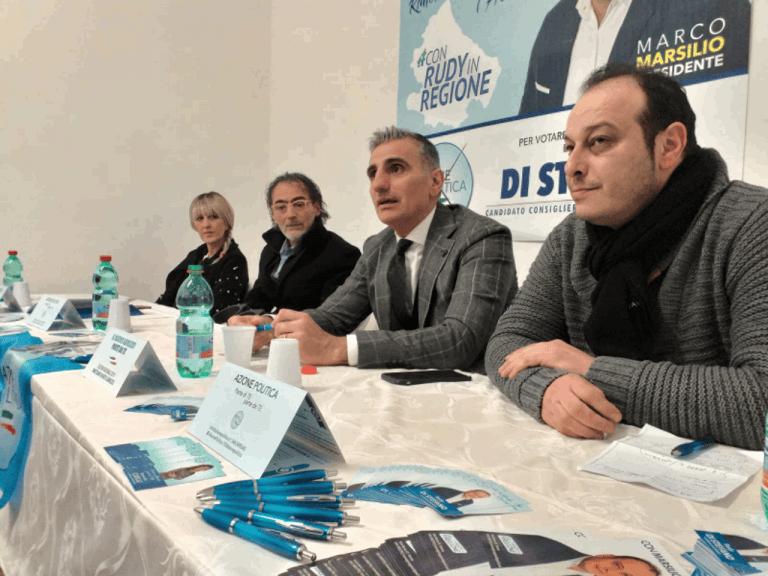 Giulianova, Azione Politica: inaugurata il comitato elettorale di Rudy Di Stefano