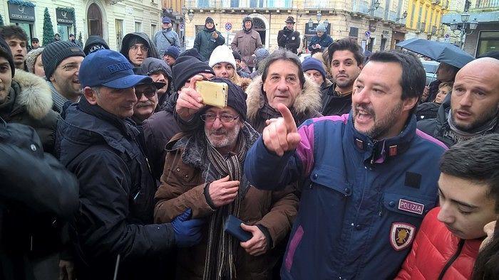 Salvini, chiusura di campagna elettorale a Pianella per l'area vestina