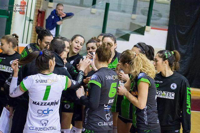 Coged senza affanni: 3-0 al Volley Group