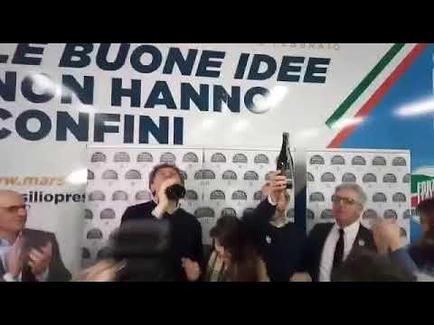 Elezioni Abruzzo, Marsilio il nuovo presidente della regione FOTO/VIDEO