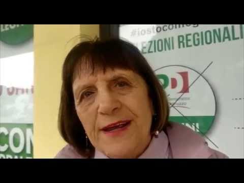 Elezioni, per un Abruzzo sano: il progetto di Maria Maddalena Marconi VIDEO