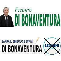Elezioni Regionali Abruzzo 10 Febbraio 2019  FRANCO DI BONAVENTURA  Candidato alla carica di Consigliere Regionale