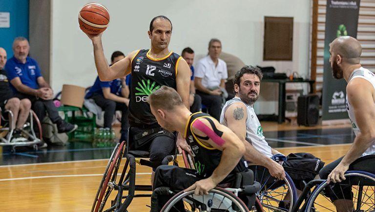 Basket in carrozzina, Amicacci sbanca Roma e blinda il terzo posto