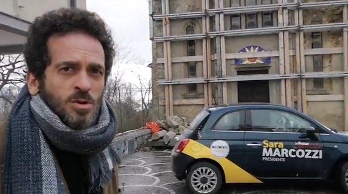 Elezioni, Giacinto Palmarini (M5S) a Salvini: venga a Cortino non a Cortina. Il VIDEO