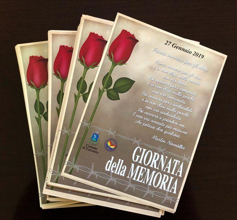 Tortoreto, Giornata della Memoria: iniziativa con gli alunni