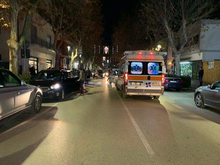 Giulianova, viale Orsini: donna investita sulle strisce pedonali