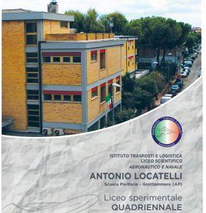 Ist. Aeronavale Antonio Locatelli, dalla Prima Infanzia al Liceo. UN PERCORSO INNOVATIVO, ITALIANO, INTERCULTURALE
