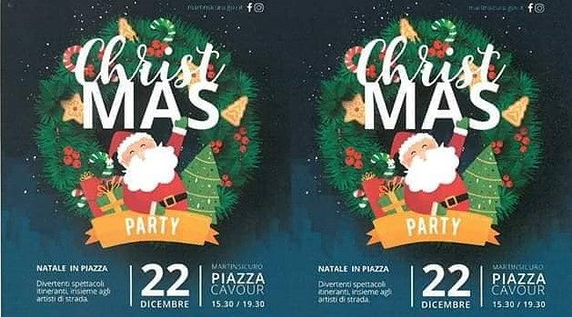 Martinsicuro, ChristMas Party: il Natale in piazza Cavour. L'evento