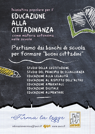 Educazione Civica nelle scuole: prosegue la raccolta firme a Chieti in piazza Vico