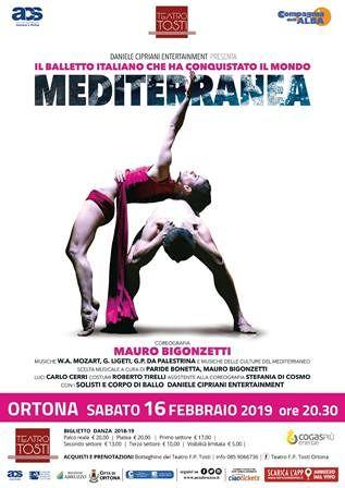 Appuntamento con Mediterranea al Teatro Tosti di Ortona