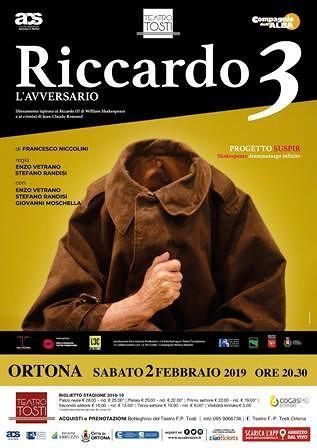 Ortona, Riccardo 3 al Teatro Tosti