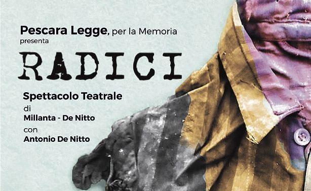 Pescara, in scena 'Radici' per ricordare le vittime dell'olocausto