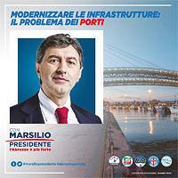 MARSILIO, I PORTI SONO UN'INFRASTRUTTURA FONDAMENTALE PER LA RIPARTENZA DELL'ABRUZZO