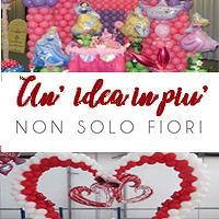 UN'IDEA IN PIU'NON SOLO FIORI ? per San Valentino trova un'idea originale ?