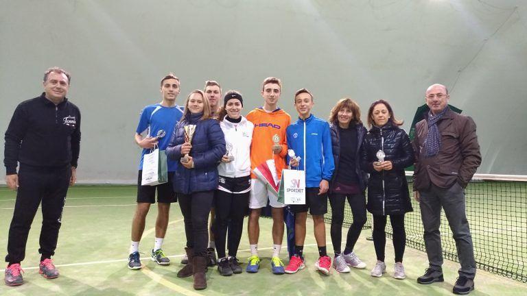 Grymalska e Grappasonno vincono il primo torneo invernale del Circolo Tennis Silvi
