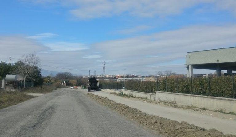 Alba Adriatica, pista ciclabile: cantiere ora a Corropoli. Si punta a finire prima dell'estate