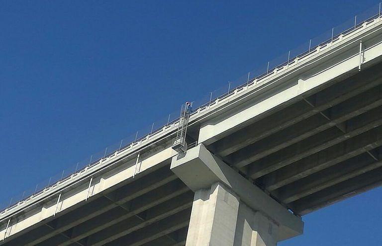 Viadotto del Salinello, il servizio di Skytg24 sullo stato dei piloni VIDEO