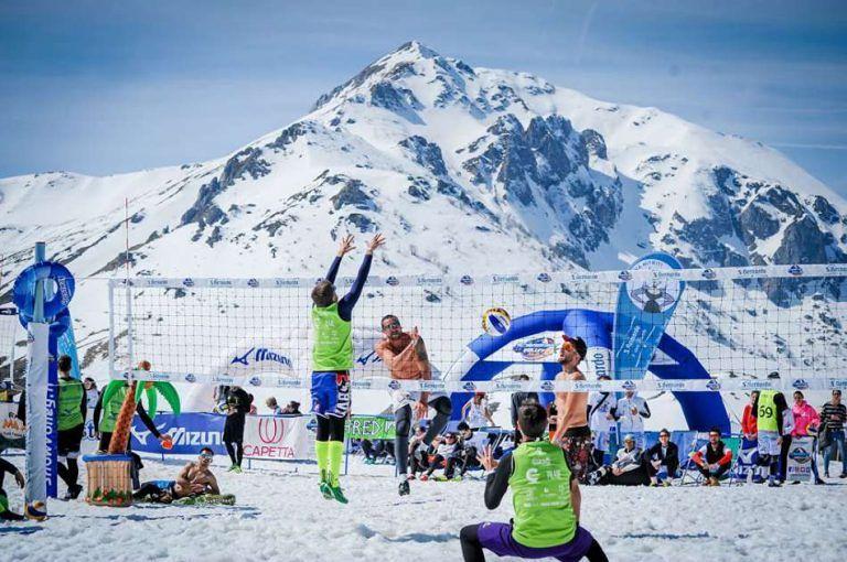 Snow volley Italia: a Roccaraso la pallavolo sulla neve